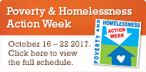 Poverty and Homelessness Action Week