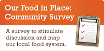 Our Food in Place: Community Survey
